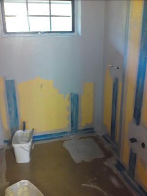 Tätskikt badrum golv